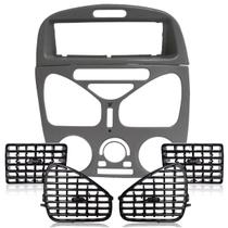 Moldura Central Com Ar Moldura Rádio Difusores Palio Siena - Autoplast