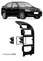 Moldura De Painel 2 Din Chevrolet Astra 1998 1999 2000 2001 2002 2003 2004 2005 2006 2007 2008 2009 2010 2011 2012 - Ar Condicionado Digital - Autoplast