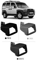 Moldura De Painel 2 Din Fiat Doblo 2000 à 2017 Para Cd Dvd 2 Dins - Autoplast