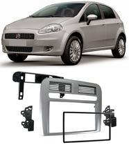 Moldura De Painel 2 Din Fiat Punto 2008 2009 2010 2011 2012 - Autoplast