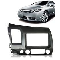 Moldura De Painel 2 Din Honda New Civic 2007 2008 2009 2010 2011 p/ CD DVD 2 Din - Autoplast