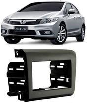 Moldura De Painel 2 Din Honda New Civic 2012 2013 2014 2015 2016 - Autoplast