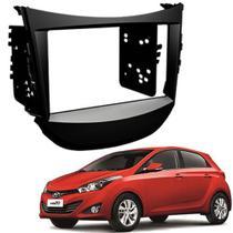 Moldura De Painel 2 Din Para Hyundai HB20 Com Som Original De Fábrica - Adaptador Para Cd / Dvd Player - Autoplast