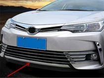 Moldura Friso Cromado grade Bumper Frontal Toyota Corolla -