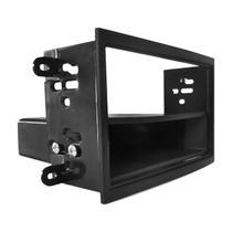 Moldura Painel 1Din  Onix / Prisma / Cobalt / Spin + Porta Objeto - Autoplast