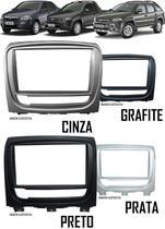 Moldura Painel 2 Din Fiat Palio Weekend Siena EL Strada Adventure 2012 Em Diante - Autoplast