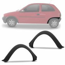 Moldura Para-lama Traseiro Corsa Hatch 94 95 96 97 98 99 00 01 02 Alargador Preto Texturizado - Dts
