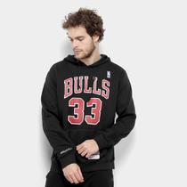 Moletom Chicago Bulls Mitchell  Ness NBA Canguru II Masculino -