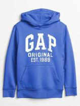 Moletom Gap Infantil Menino Fleece Original Canguru - Gap kids