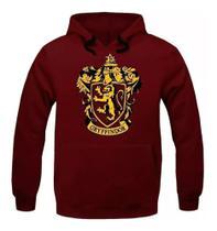 Moletom Harry Potter Blusa Gryffindor Grifinoria Em Algodão Vermelho (GG) - Meraki Collection