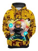 Moletom Naruto Quarto Hokage Minato Aldeia Konoha Anime Mangá 3d Cor Amarelo Tamanho M - M.A.L Store - Fábrica