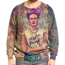 Moletom Raglan Unissex Frida Kahlo - Over fame