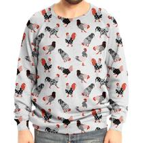 Moletom Raglan Unissex Galos - Over fame