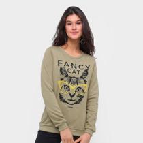 Moletom Sommer Fancy Cat Feminino -