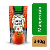Molho de Tomate Heinz Manjericão 340g Embalagem com 24 Unidades -