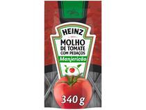 Molho de Tomate Manjericão Heinz 340g -