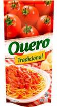 Molho De Tomate Quero Tradicional Sachê 340g -