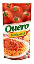 Molho de Tomate Tradicional com pedaços de Tomate Quero 340g -