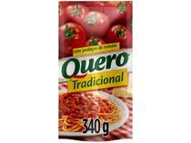 Molho de Tomate Tradicional Quero 340g -