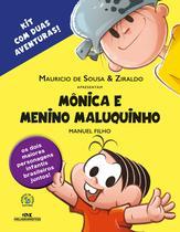 Mônica e Menino Maluquinho - Kit com 2 aventuras