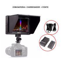 Monitor 4k Viltrox Dc-70ii Completo Com Fonte Bateria e Carregador -