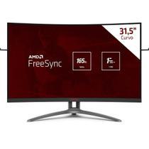 """Monitor AOC 31,5"""" Gamer Agon RGB LED FHD Tela Curva, Widescreen VA, 154Hz, Conexão VGA, HDMI 2.0 -"""
