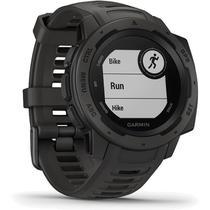 Monitor Cardíaco de Pulso com GPS Garmin Instinct Grafite -