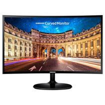 Monitor Curvo Full HD Samsung LED 24 Polegadas C24F390 Preto -