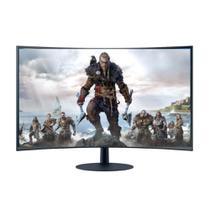 Monitor Curvo Gamer Samsung 32 FHD Som embutido HDMI DP VGA 75hz 4ms Freesync LC32T550FDLXZD -