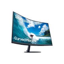 "Monitor Curvo Samsung 32"" FHD, HDMI, Display Port, VGA, 75hz, Freesync, LC32T550FDLXZD -"