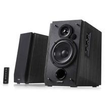 Monitor de Áudio Edifier R1700BT Black 66W RMS Bluetooth com Controle Remoto (Par) -