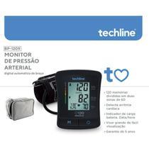 Monitor de pressão Arterial de Braço  BP-1209 Techline -