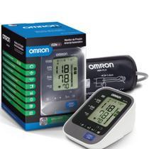 Monitor de Pressão Arterial Digital de Braço Omron HEM-7320 Automático Cinza e Branco -