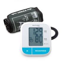 Monitor de Pressão Multilaser Arterial de Braço Silencioso - HC206 -