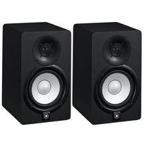 Monitor De Referência Ativo Par Yamaha Hs5 Preto 70w 110v -