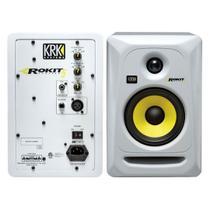 Monitor de referência KRK Rokit RP5 - 3a Geração - 110v Branca - O PAR -