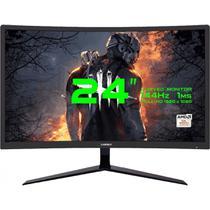 "Monitor Gamemax 24"" LED BLACK Tela Curva GMX24C144 - GNA"