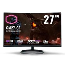 Monitor Gamer Cooler Master 27 Full HD, Tela Curva, 165Hz, AMD FreeSync Premium - CMI-GM27-CF-BR -