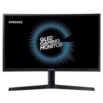"""Monitor Gamer Curvo Samsung 24"""", FHD, 144Hz, 1ms, HDMI, DP, FreeSync, com ajuste de altura, preto, série CFG73 -"""