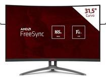 Monitor Gamer Entusiasta Monitor Ag323fcxe  31,5 Agon Fulhd Wide Curvo 1ms 165hz Com Amd Freesync - Aoc