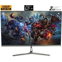 "Monitor Gamer LED 24"" 2ms 75hz Full HD Widescreen Bordas ultra finas HQ 24HQ-GAMER -"
