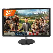 """Monitor Gamer LED 24"""" Bluecase Full HD HDMI BM241GW -"""