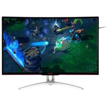 Monitor Gamer LED 32 AOC Agon AG322FCX/75, Tela Curva, Full HD, HDMI, VGA, DVi, 144Hz