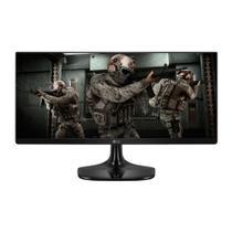 "Monitor Gamer LG 25"" LED Full HD HDMI UltraWide IPS 75Hz 1ms Preto 25UM58G-P -"