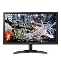 "Monitor Gamer LG LED 24"", HDMI/DisplayPort, FreeSync, 144Hz, 1ms, Ajuste de inclinação - 24GL600F-B - LG Eletronics"