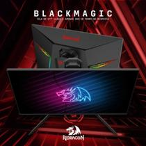 "Monitor Gamer Redragon 27"" BlackMagic 144Hz,Full HD, 1ms Iluminação RGB Holograma - GM7FT27 -"