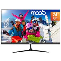 "Monitor HDMI 75Hz 24"" MOOB LED Preto -"