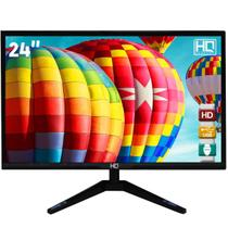 "Monitor LED 24"" HQ Widescreen Full HD 24HQ-LED HDMI -"