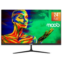 Monitor LED 24 MOOB Bordas Ultra Finas 2ms Preto -