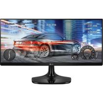 Monitor LED 25 IPS LG 25UM58 Ultrawide Full HD 2 HDMI Preto
